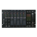 DAP-Audio IMIX-7.2 USB 7 Channel 6U install mixer USB 2 zones